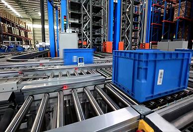 Sanitary ware logistics center of a large enterprise