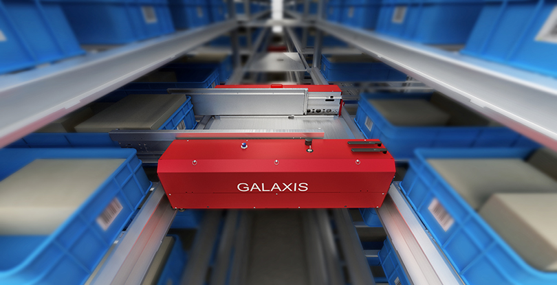 The first prize winner on China's intelligent transport robot - four-way multi-shuttle of Galaxis
