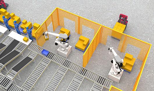 Palletizing/Depalletizing and Picking Robot